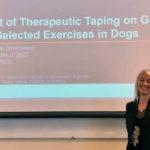 Veterinary Student Studies Therapeutic Taping