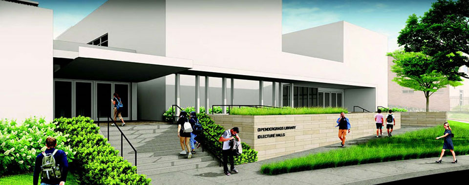 Rendering of UTCVM Teaching and Learning Center