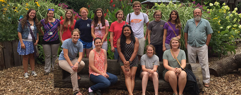 Students and staff participating in the Boehringer Ingelheim Veterinary Summer Scholars Program