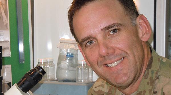 Lieutenant Colonel Robert Martin, '00