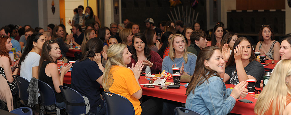 Student welcome celebration